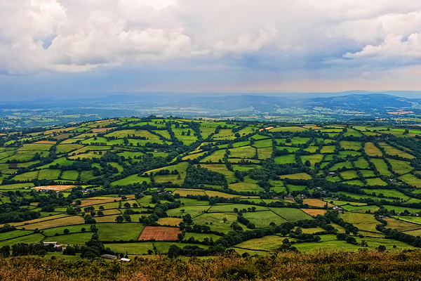 England from Offa's Dyke